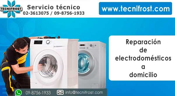 Reparación de lavadoras tecnifrost