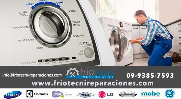 Reparación de lavadoras friotecni