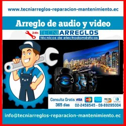 Arreglo de audio y video tecniarreglos.