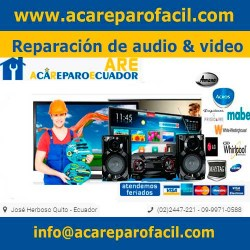 Reparación de audio y video acareparo