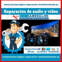 Reparación de audio y video tecniarreglos.
