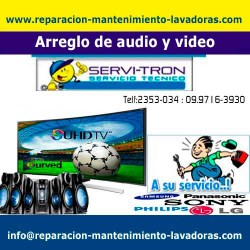 Arreglo de audio y video reparacion-mantenimiento-lav