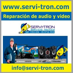 Reparación de audio y video servitron